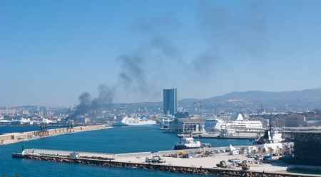 tonnage: The economy of Marseille and its region is still linked to its commercial port, the first French port and the fifth European port by cargo tonnage.
