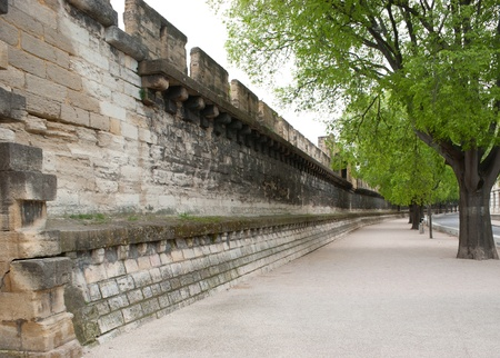 existence: Ramparts still encircle Avignon and they are one of the finest examples of medieval fortification in existence. Editorial