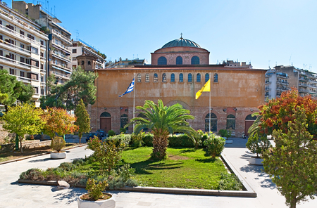 The Hagia Sophia in Thessaloniki, Greece, is one of the oldest churches in that city still standing today.