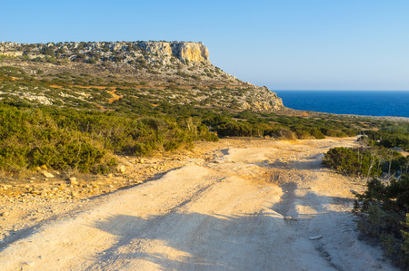 greco: The best way to discover the Cape Greco is to ride on bike or quad along its coast, Cyprus.