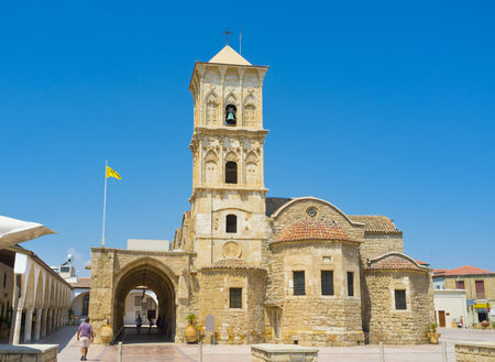 lazarus: The St Lazarus church is the notable landmark for tourists and the visit card of Larnaka,  Cyprus.