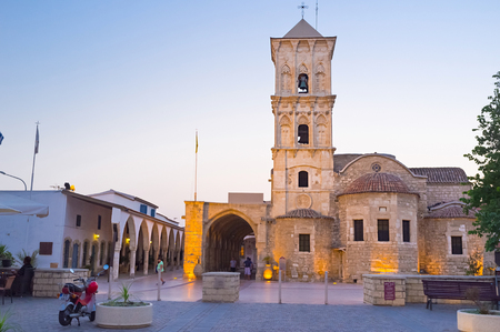 lazarus: The impressive church near the port of Larnaca dedicated to St. Lazarus considered the oldest and most beautiful monument built in honour of the Saint, Cyprus.