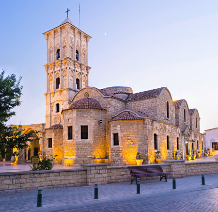 ecclesiastical: The St Lazarus church situated in the heart of the old town and neighboring with the Ecclesiastical museum, Larnaka,  Cyprus.