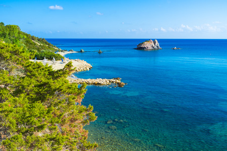 The Baths of Aphrodite situated on the coast between Polis and the Cape of Akamas, a region steeped in mythology and rich in history.