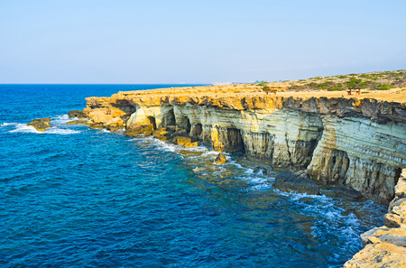 The Cape Greco is the famous tourist destination located between Ayia Napa and Protaras resorts, Cyprus.