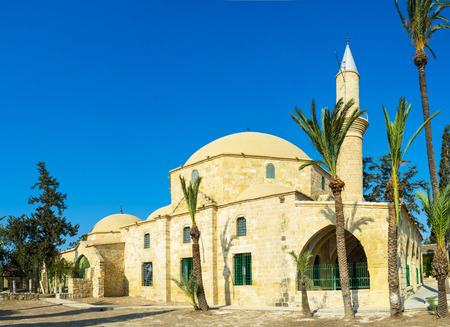 sufi: Hala Sultan Tekke complex in Larnaca, Cyprus.