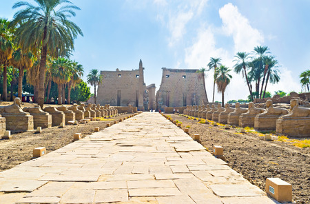 thebes: Luxor Temple is a large Ancient Egyptian temple complex located on the east bank of the Nile River in Luxor (ancient Thebes), Egypt.