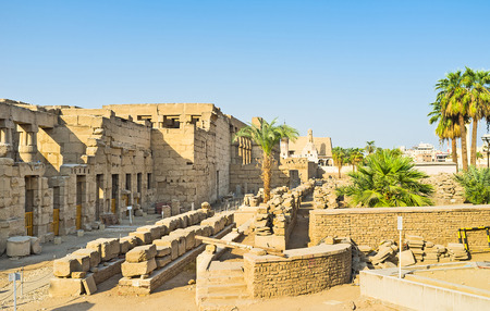 notable: The Luxor Temple is one of the most notable landmarks of Egypt.