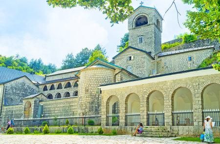 serbian: Serbian Orthodox Monastery, Centinje, Montenegro