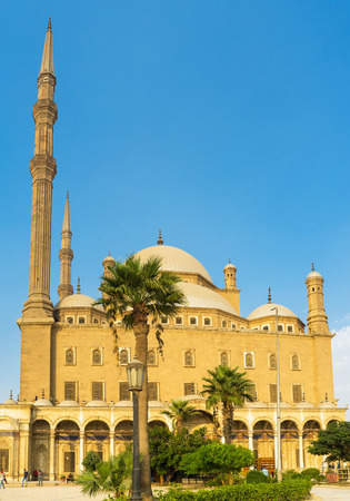 muhammad: The Great Mosque of Muhammad Ali Pasha located on the territory of the Saladin Citadel, Cairo, Egypt.