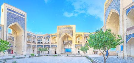 uzbekistan: Mir-i-Arab Medressah, Bukhara, Uzbekistan Editorial