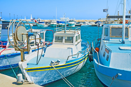 best place: The Zugi village is the best place to hire a small boat, Cyprus.