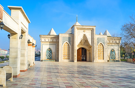 seljuk: The scenic building in islamic style is the Independence War Museum, Konya, Turkey. Editorial