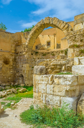 archaeological site: The archaeological site of the Roman Baths is one of the largest and most interesting in El Kef, Tunisia.