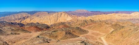 masiv: The hiking in Eilat mountains is the best attraction for those, who likes to enjoy the natures beauty, Israel.