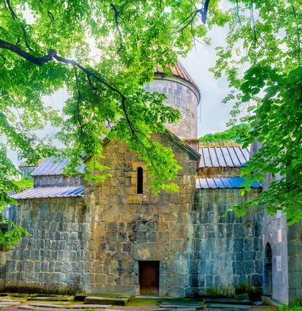 notable: The Sanahin Monastery is one of the notable landmarks, located next to Alaverdi, Armenia.