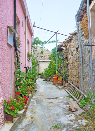 best place: The maze of the streets in the mountain village is the best place to get lost for some hours, Gourri, Cyprus.