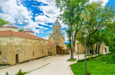 The Haghartsin Monastery is the notable landmark among the locals and tourists, located next to Dilijan, Armenia.
