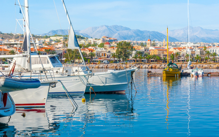 The Greek resort of Rethymno, is the nice place to spend vacation and enjoy the yacht trips to another cities and beaches of Crete, Greece. Editorial
