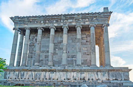colonnaded: The Garni Temple is one of the most unique landmarks in country, and the only known Greco-Roman colonnaded building in Armenia, Kotayk Province.