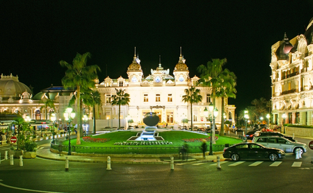 MONACO - FEBRUARY 20, 2012: The luxury Casino Square is the best place to enjoy the views of splendid Monte Carlo landmarks, on February 20 in Monaco. Editorial