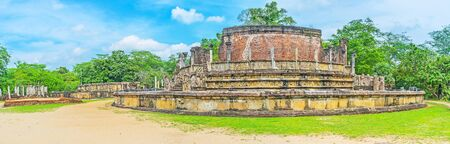 polonnaruwa: Discover the landmarks of the sacred city of Polonnaruwa, the capital of the old Kingdom with preserved ancient landmarks, Sri Lanka.