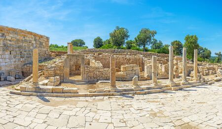Agora of ancient city Patara was the centre of city life with shops, workshops, and entertaining establishments, Turkey