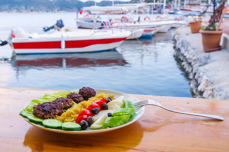 Traditional cuisine in Turkey is very traste and is the best option for supper, Kekova, Tukey