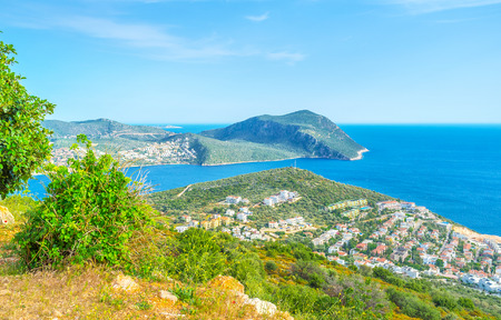 The diversity of  landscape of turkish riviera makes it one of the most beautiful places in Middle East, Kalkan, Turkey