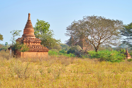 Bagan is the best place to walk in silent and calm place away from noisy tourist routes and enjoy beautiful architecture of the past, Myanmar