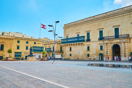 VALLETTA, MALTA - JUNE 17, 2018: 