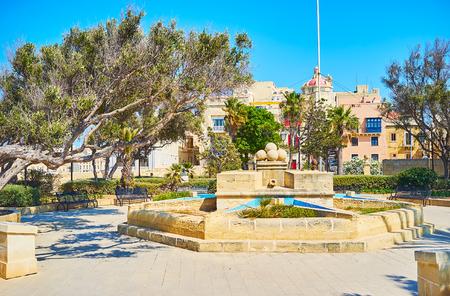 Relax in scenic Gardjola Gardens, located in upper town next to Guard Tower, Senglea, Malta