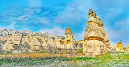 Cappadocia is nice for both - agro-tourism and ecotourism, here one will find fine sceneries, unique nature, comfort climate, cultural and historical sites, traditional farmlands and orchards, Turkey