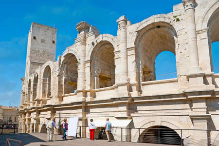 The Amphitheatre of Arles (Arenes d'Arles), situated in heart of the Old Town, is one of the notable city landmarks, France