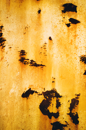 Texture of rusty