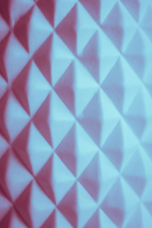 White abstract geometric background.