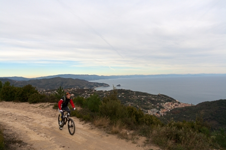 A young rider during the 24h of Finale Ligure photo