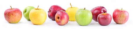 Apple varieties: annurca, stark delicious, fuji, granny smith, golden delicious, royal gala.