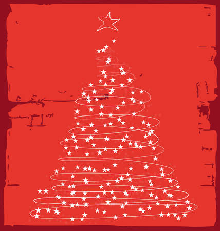 albero: cartolina Illustration