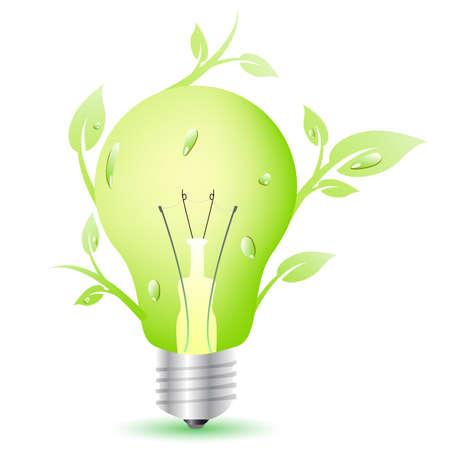lampadina ecologica Imagens