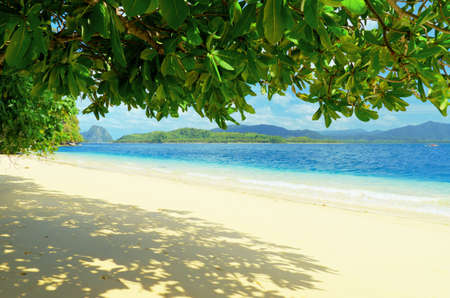 Paradise beach. Sea and sky. photo