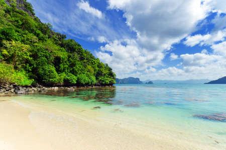 Beautiful seascape. Sky and sea. Stock Photo - 10517429