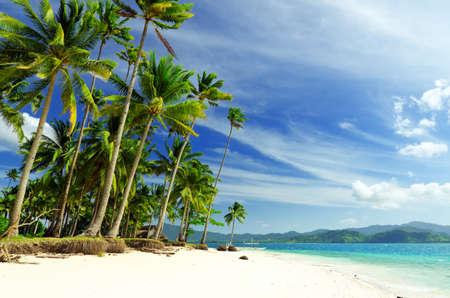 Beautiful seascape. Sky and sea. Stock Photo