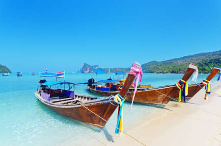 Tropical landscape. Phi-Phi Island. Thailand. Stock Photo - 12322196