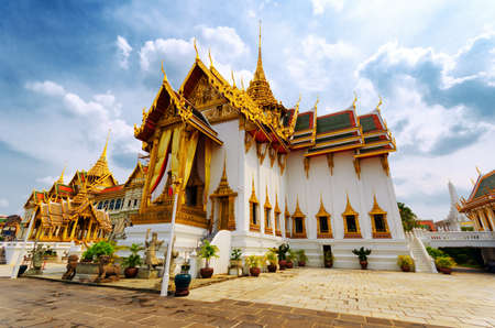Royal grand palace in Bangkok. photo