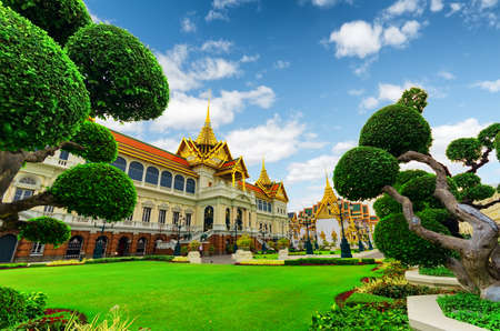 Royal grand palace in Bangkok.