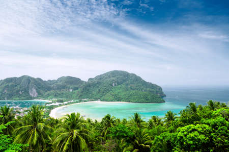 viewpoints: Tropical landscape. Phi-phi island, Thailand.