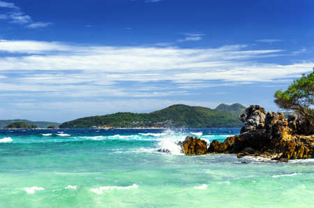 palawan: Paisaje tropical. Coron isla de Palawan, Filipinas.