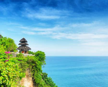 temple mount: Uluwatu temple, Bali, Indonesia.