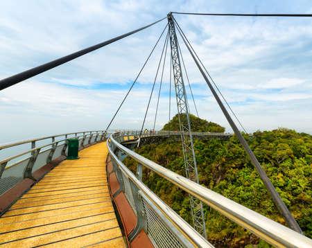 bracing: Langkawi Sky Bridge in Malaysia